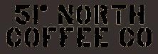 51 Degrees North Coffee Company Logo